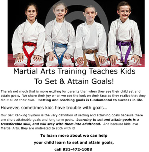 GoalSettingand Martial Arts